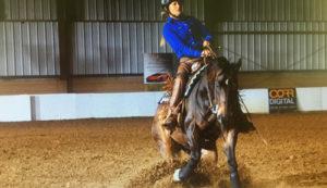 Lauren Barwick Para-Reining Champion